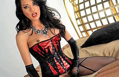 Take me to bed. Hung Jessica in stockings & corset
